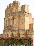 Amphitheatre di EL Djem fotografie stock