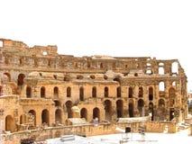 Amphitheatre di EL Djem fotografie stock libere da diritti