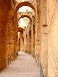 Amphitheatre di EL Djem fotografia stock libera da diritti
