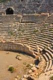Amphitheatre di Patara Fotografia Stock
