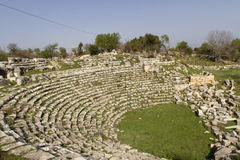 Amphitheatre of Diocaesarea, (Uzuncaburc), Mersin, Turkey Royalty Free Stock Images