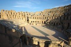 Amphitheatre do EL Djem fotos de stock