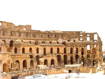 Amphitheatre do EL Djem Fotos de Stock Royalty Free