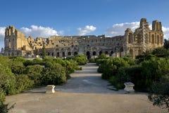 Amphitheatre do EL Jem imagem de stock royalty free