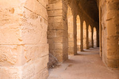 Amphitheatre in El Djem Royalty Free Stock Photography