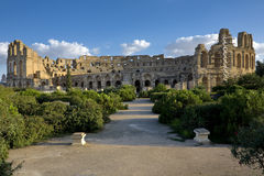 Amphitheatre of El Jem Royalty Free Stock Image