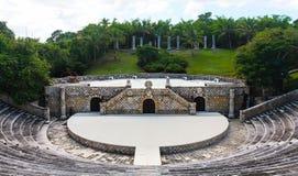 Amphitheatre em Alto de Chavon fotografia de stock