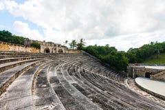 Amphitheatre em Alto de Chavon foto de stock royalty free