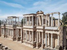 Amphitheatre of Emerita Augusta Royalty Free Stock Images