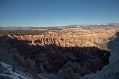 Amphitheatre en Bryce Canyon Foto de archivo libre de regalías
