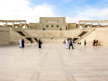 Amphitheatre en el pueblo cultural de Katara, Doha Fotos de archivo