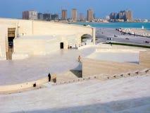 Amphitheatre en el pueblo cultural de Katara, Doha Foto de archivo libre de regalías