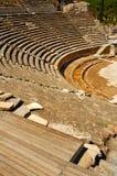 Amphitheatre en Ephesus, Turquía. imagen de archivo