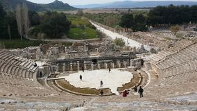 The amphitheatre  at Ephasus Turkey Royalty Free Stock Photography