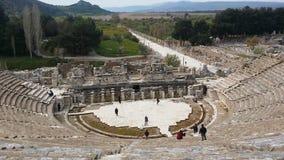 Amphitheatre in Ephasus Turkije Royalty-vrije Stock Fotografie