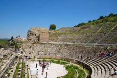 The amphitheatre of Ephesus Royalty Free Stock Photos