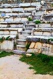 Amphitheatre in Ephesus. Stockbild
