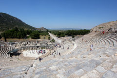 Amphitheatre in Ephesus Royalty-vrije Stock Foto's