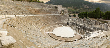 The Amphitheatre of Ephesus Royalty Free Stock Photo