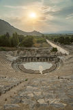 The Amphitheatre of Ephesus Stock Image