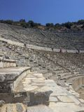 Amphitheatre Ephesus IZMIR/TURKEY royalty free stock image
