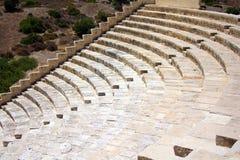 Amphitheatre errichtet vom Sandstein Lizenzfreie Stockfotografie