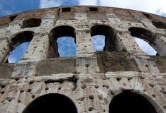 Amphitheatre famoso de Colosseum - de Flavian, Roma, AIE fotos de stock royalty free