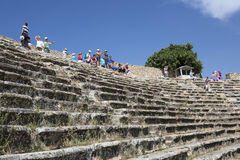Amphitheatre of Hierapolis in Denizli, Turkey Stock Photo