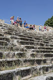 Amphitheatre of Hierapolis in Denizli, Turkey Royalty Free Stock Images