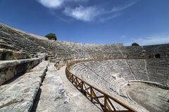 Amphitheatre of Hierapolis in Denizli, Turkey Stock Photography