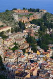 Amphitheatre In Sicily Stock Image