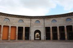 Amphitheatre in Italien Stockbild