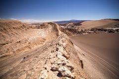 Amphitheatre jest pięknym geological formacją księżyc dolina Obraz Stock