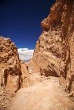 Amphitheatre jest pięknym geological formacją księżyc dolina Obrazy Royalty Free