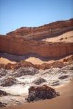 Amphitheatre jest pięknym geological formacją księżyc dolina Obrazy Stock
