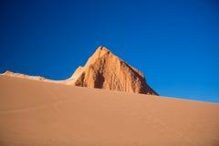 Amphitheatre jest pięknym geological formacją księżyc dolina Zdjęcie Royalty Free