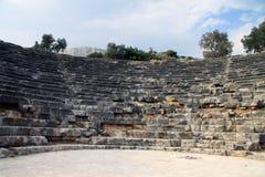 Amphitheatre in Kas Stock Photos
