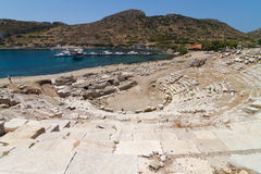 Amphitheatre Knidos Obraz Royalty Free