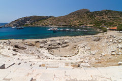 Amphitheatre of Knidos Royalty Free Stock Photos