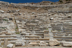 Amphitheatre of Knidos Royalty Free Stock Image