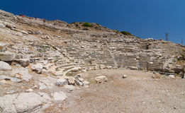 Amphitheatre of Knidos Stock Images