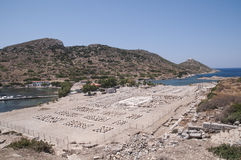 Amphitheatre of Knidos, Datca, Turkey Stock Photography
