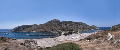 Amphitheatre of Knidos, Datca, Turkey Royalty Free Stock Photos