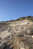 Amphitheatre in Knidos, Mugla Royalty Free Stock Photo