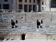 Amphitheatre in Lecce Stock Images