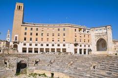 Amphitheatre. Lecce. Puglia. Italy. Stock Photography