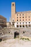 Amphitheatre. Lecce. Puglia. Italy. Royalty Free Stock Image