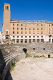 Amphitheatre. Lecce. Puglia. Italy. Royalty Free Stock Images