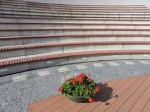 Amphitheatre, Litauen lizenzfreies stockbild