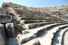 Amphitheatre in Milet, Turkey Stock Photo